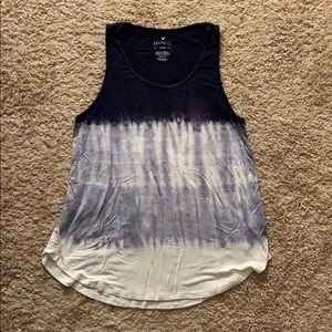 American Eagle Tie Dyed Tank Top